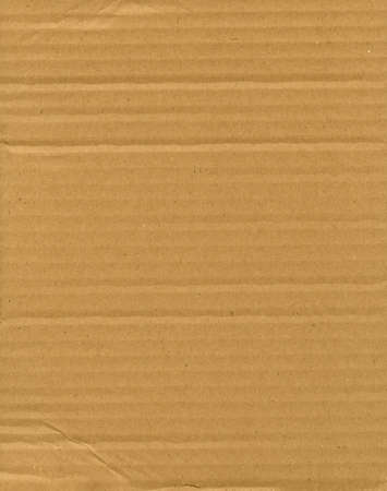 Brown corrugated cardboard texture background wallpaper