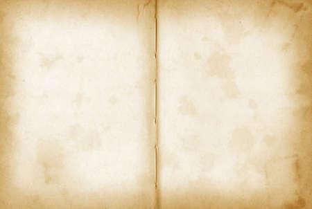 old grunge open notebook. Background texture wallpaper