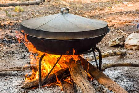 steam cooker: Heating Pot