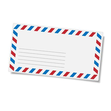mailing: Blank mailing envelope  Illustration