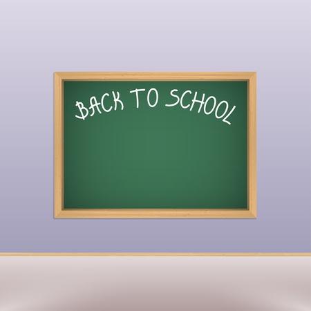 School blackboard in classroom Stock Vector - 15147744