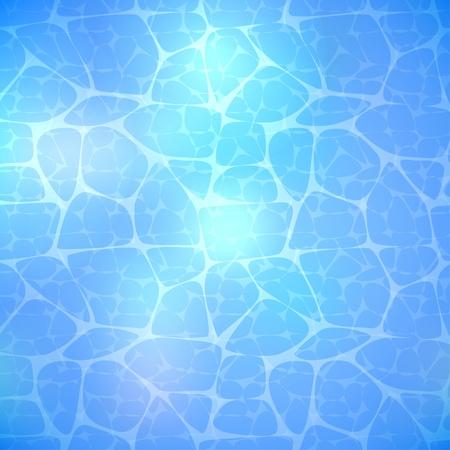 Water Blue Background  Vector illustration Vector
