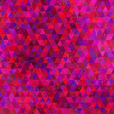 Triangles geometric pattern  Vector seamless texture  Vector