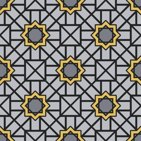 rhomb: Seamless texture with geometric ornament. Vector pattern
