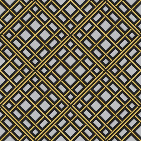 pakistani: Seamless texture with arabic geometric ornament. Vector pattern