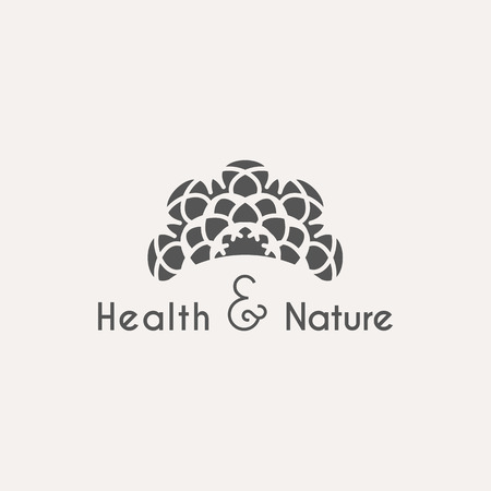 health beauty: Asian health and nature template. ethnic ornamental design for beauty salons, spa, massage, saunas, healthcare and medicine.