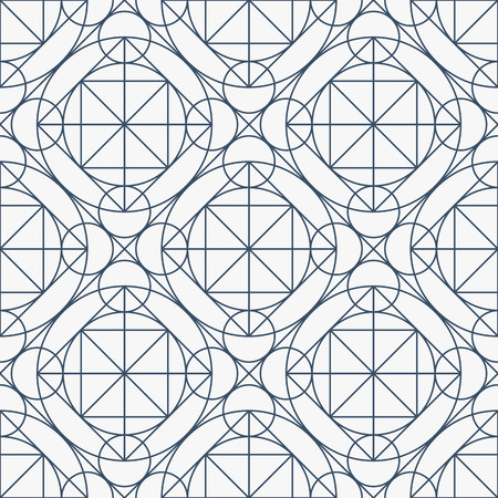 arcanum: Vector Geometry Seamless Pattern