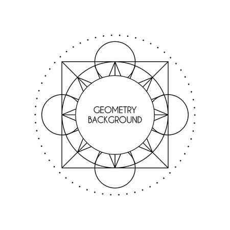 arcanum: Vector Magic Geometry Background