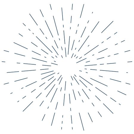 Vector Sunburst Background