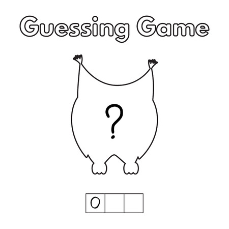 and guessing: Cartoon Owl Guessing Game.
