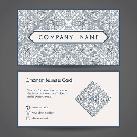 royal: Vector Business Card Template