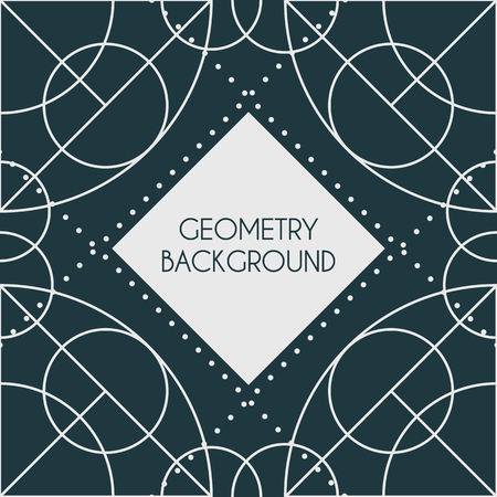 Vector Magic Geometry Background