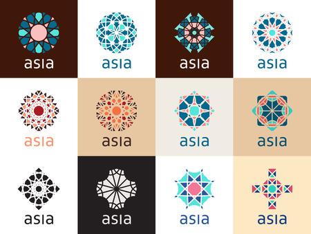 Orientalische geometrische Symbole