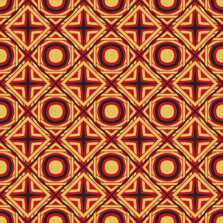Wektor azjatycki wzór geometryczny