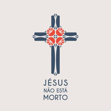 Jesus Mosaic Christ Vector Symbol