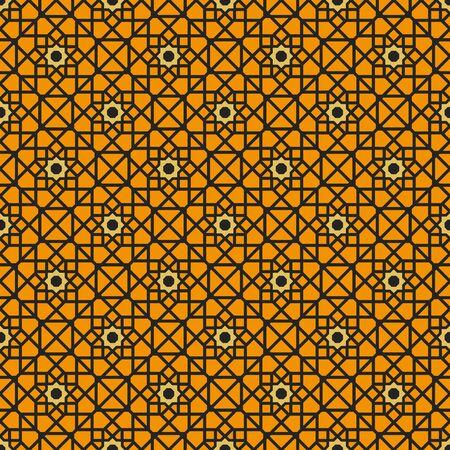 Vector Asian Geometric Pattern Banco de Imagens - 129561425
