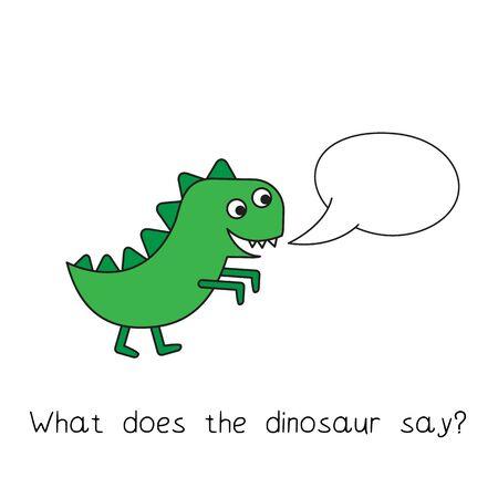 Cartoon Dinosaur Kids Learning Game