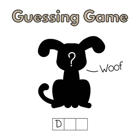 Cartoon Dog Guessing Game