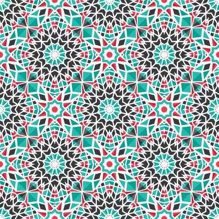Vector Asian Geometric Pattern Векторная Иллюстрация