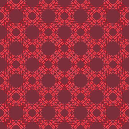Seamless texture with arabic geometric ornament. Vector oriental mosaic pattern