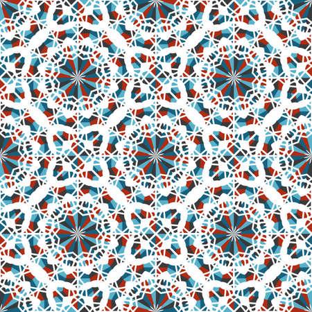 Vector Asian Geometric Pattern Banco de Imagens - 155195051