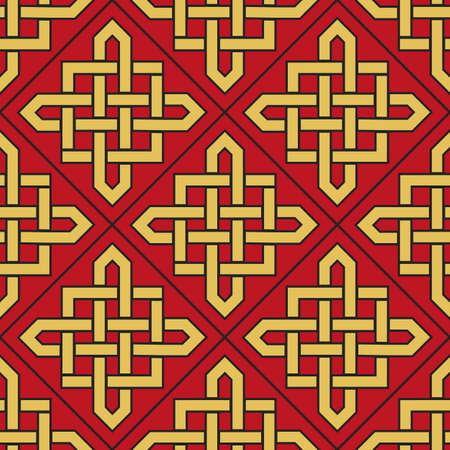 Vector Asian Geometric Pattern Banco de Imagens - 156587887
