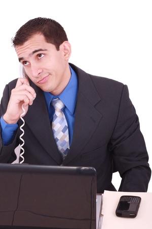 Bored businessman Stock Photo - 9999681