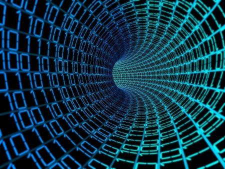 bin�rcode: Bin�r-Code-Daten digital background