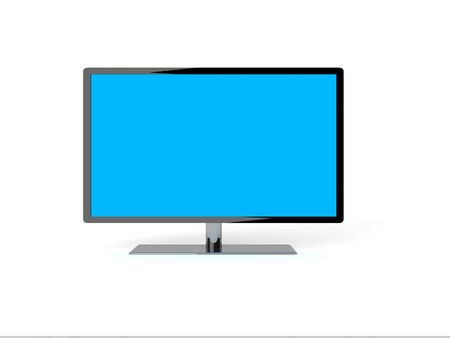 high definition: lcd plasma tv.  Stock Photo