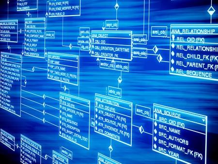 스프레드 시트: 데이터베이스 테이블