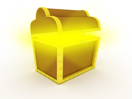 Treasure chest Stock Photo - 11701253