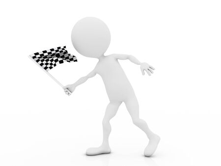 fast driving: Race flag