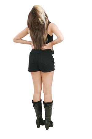 A portrait of a sexy woman from the back Stock Photo - 12838259