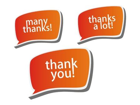 thanks a lot: Thank you - grateful color bubbles design