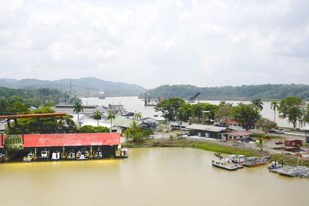dredging: Panama Canal, dredging area