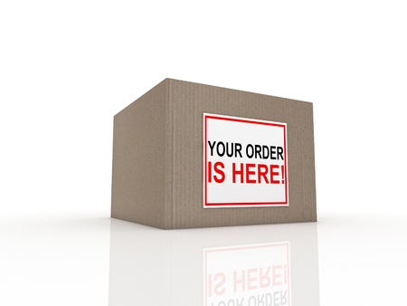 ship parcel: special delivery important shipment special package sending express shipping