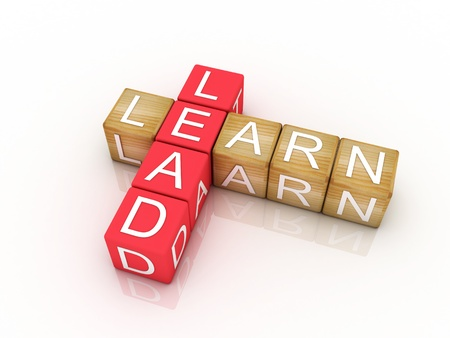 dangling: Learn and Lead crossword puzzle