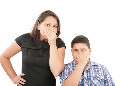 smelly: Covering them nose after a bad smell
