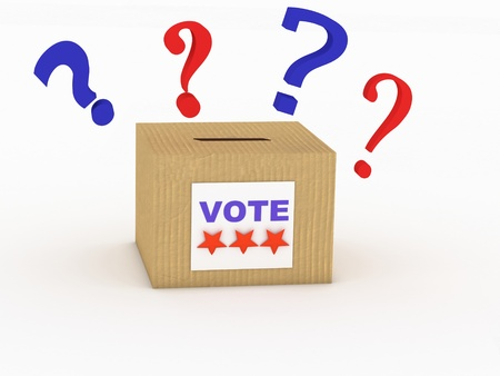 voting booth: voter in the voting booth. voting in a democracy