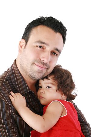 Close up of father and daughter Stock Photo - 16512891