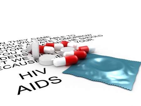 Aids medical and preventive treatment photo