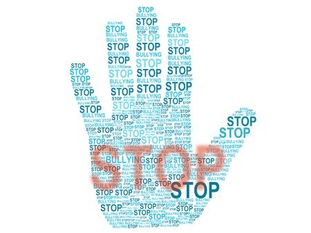 Stop Bullying  Standard-Bild