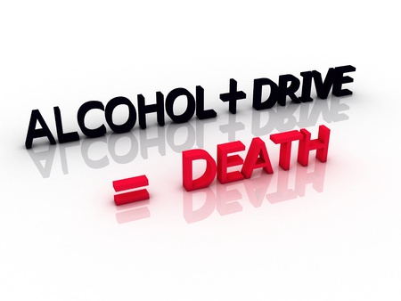 words meaning death when you drive and drink alcohol photo