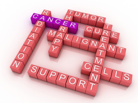 Cancer medical background design photo