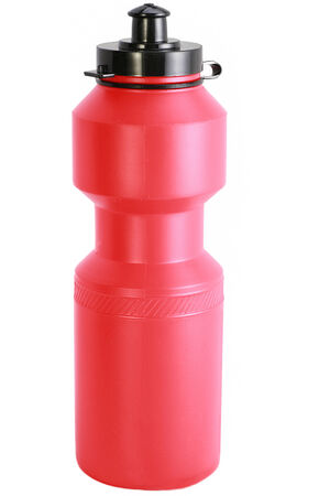 sport bottle isolated over white background photo