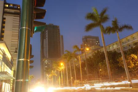 manila: Manila, Taguig City in the twilight