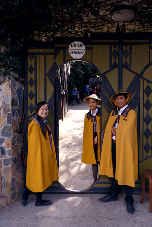lat: The entrance to the Crazy House, Da Lat, Vietnam