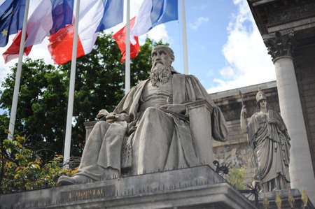 palais: Statesman of France Stock Photo