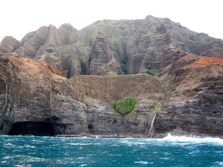 na: Rugged Na Pali Coast Kauai Hawaii