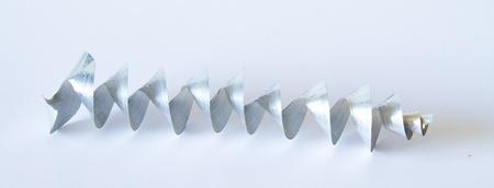 Aluminium spiral chip